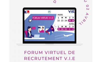 Forum virtuel de recrutement V.I.E