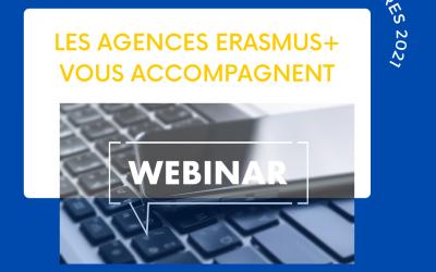 Les Agences Erasmus+ France vous guident pour vos dépôts de projets