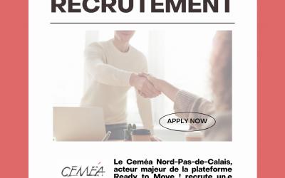 Offre de poste : CDD Coordinateur.rice de projet – Cemea Nord-Pas-de-Calais