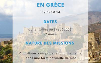 Une mission CES à Xylokastro en Grèce pour 2 mois ça te tente ?
