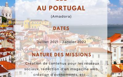 [Corps Européen de Solidarité – LT] – Graphisme, web design au Portugal