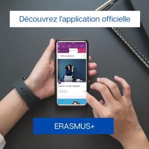 application officielle dédiée au programme Erasmus+