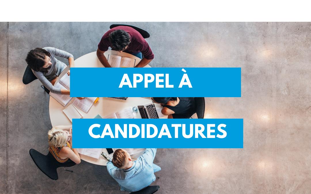 [Appel à candidatures] – Formateurs/trices à la mise en place de projets Erasmus+ Jeunesse et Corps Européen de Solidarité