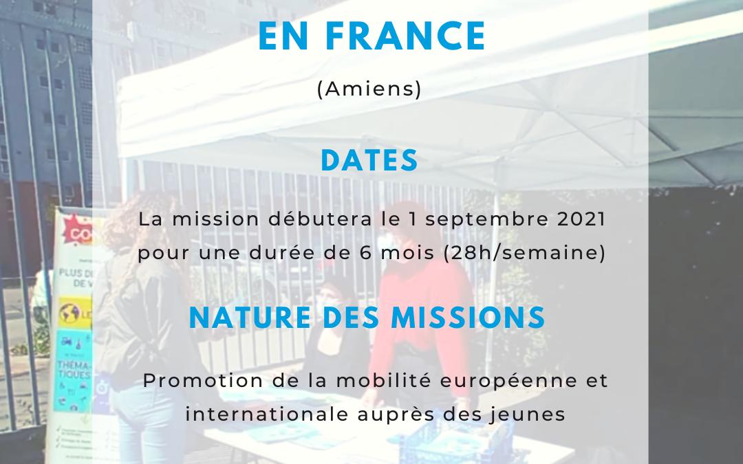 [Service Civique] – Ambassadeur·drice de la mobilité européenne et internationale – Concordia Amiens