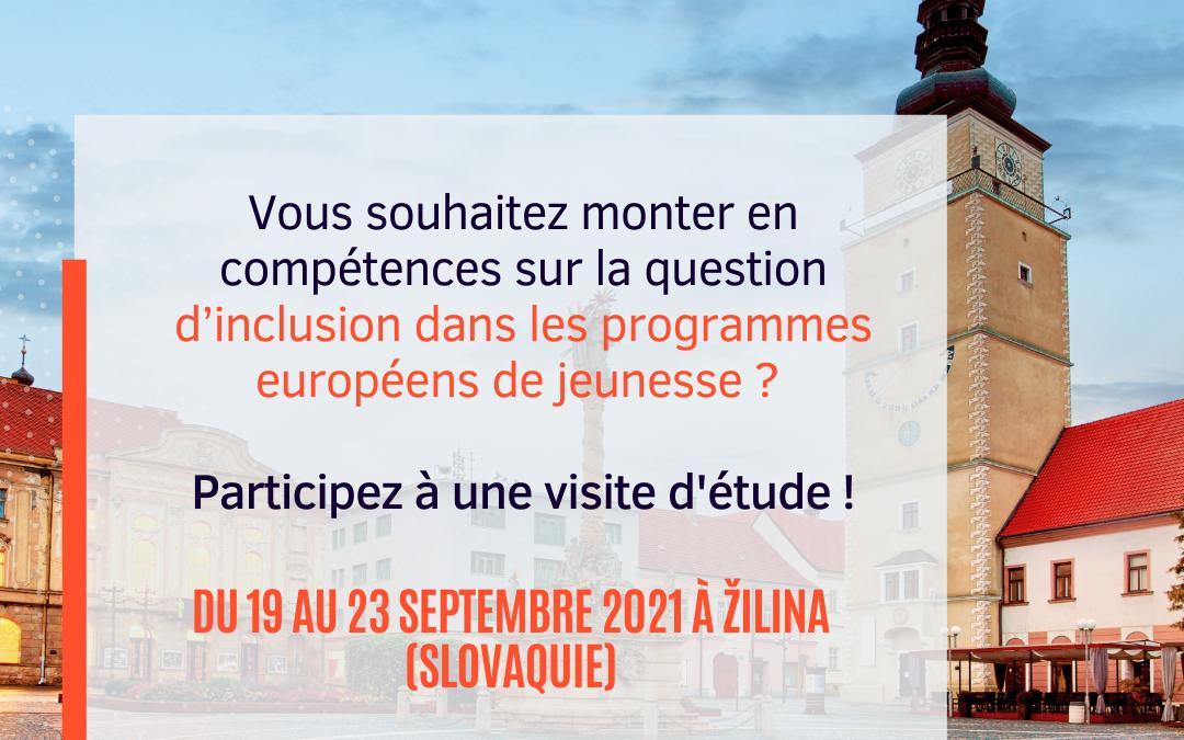 [Professionnels] – Participez à une visite d'étude avec l'Agence Erasmus+ en Slovaquie
